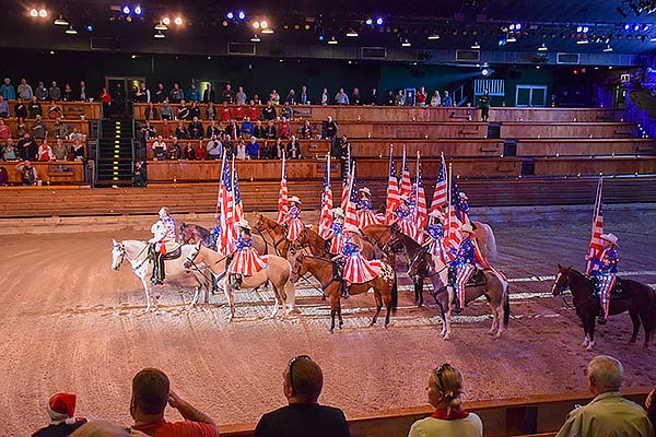 Horses and Flags